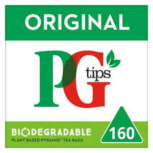 Pg Tips Pyramid 160 Tea Bags