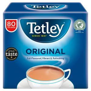 Tetley Original 80 Tea Bags