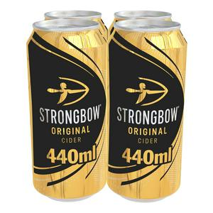 Strongbow Original Cider Cans 4 x 440ml