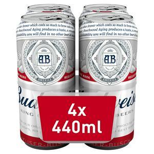 Budweiser 4x440ml