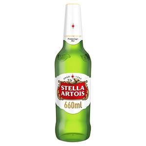 Stella Artois Premium Lager 660ml