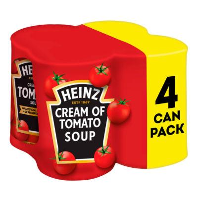 Heinz Cream of Tomato Soup x4 400g