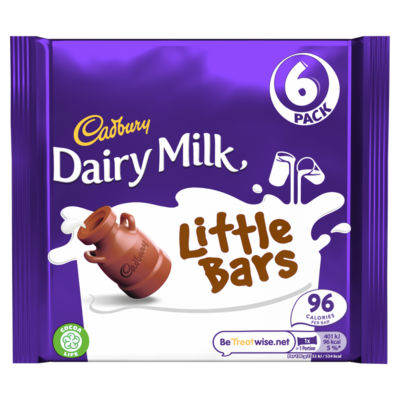 Cadbury Dairy Milk For Kids 6 Pack