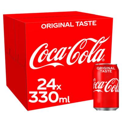 Coca Cola Regular 24 X 330Ml Pack