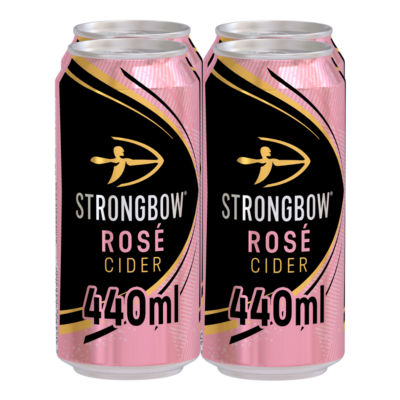 Strongbow Rose Cider 4x440ml