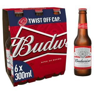 Budweiser 20x300ml Bottle