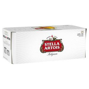 Stella Artois Premium Lager 18x440ml