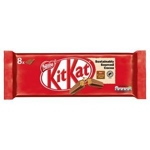Kit Kat 4 Finger Milk Chocolate Biscuit 8 Pack