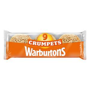 Warburtons Crumpets 9 Pack