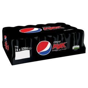 Pepsi Max 24 X 330ml