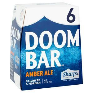 Sharp's Doom Bar Amber Ale 6x500ml