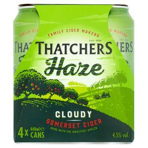 Thatchers Haze Cider 4x440ml Can