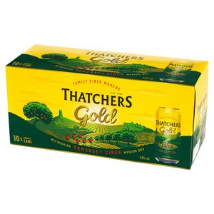 Thatchers Gold Cider 10x440ml Can