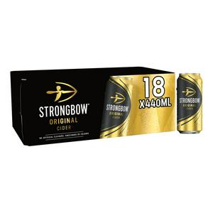 Strongbow Original Cider Cans 18 x 440ml