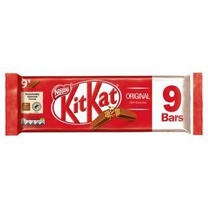 Kit Kat 2 Finger Milk Chocolate Biscuits 21 Pack