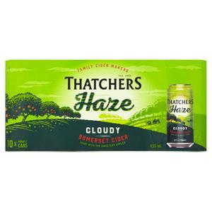 Thatchers Haze Cider 10x440ml Can