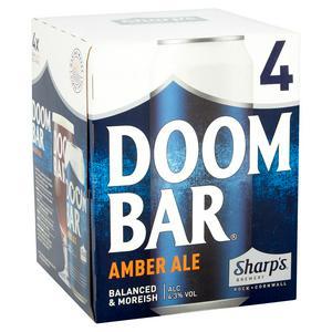 Sharp's Doom Bar Amber Ale 4x500ml